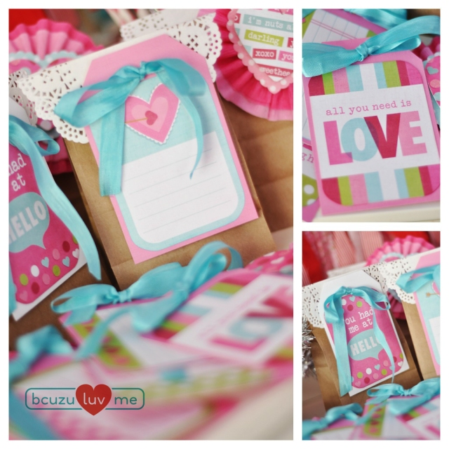 Valentine Bags & Toppers