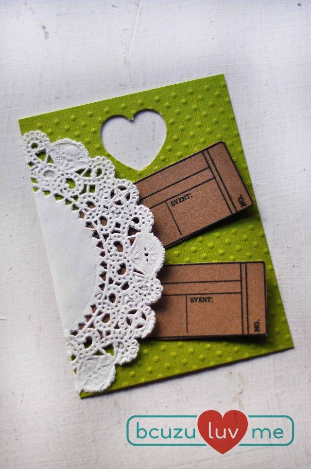 green 3x4 card