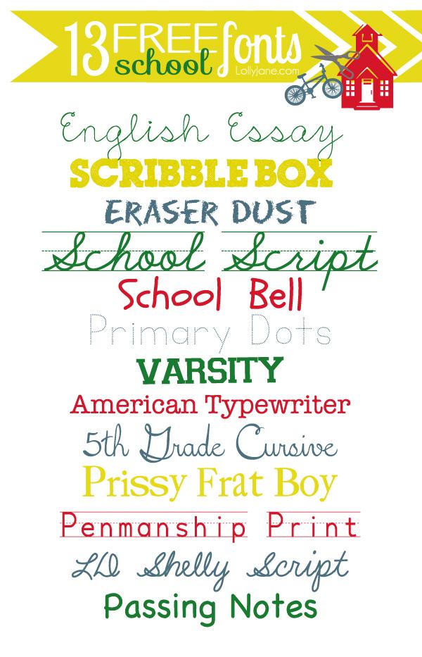 B2S fonts