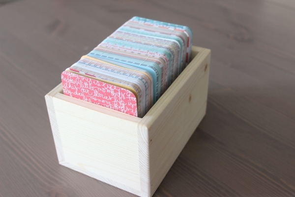 3x4 Card Storage