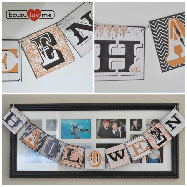 halloween banner Collage