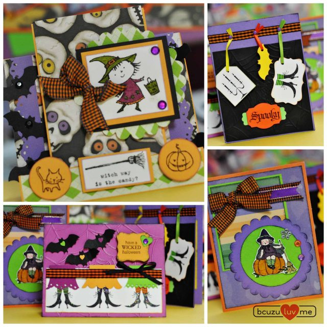 halloweencards Collage