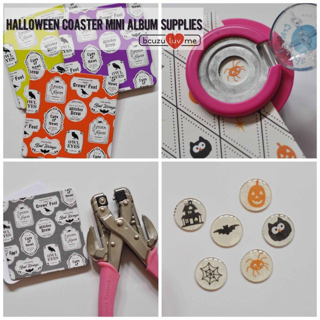 webhalloween coaster books Collage